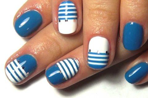 10 идей модного маникюра для коротких ногтей на лето 2018