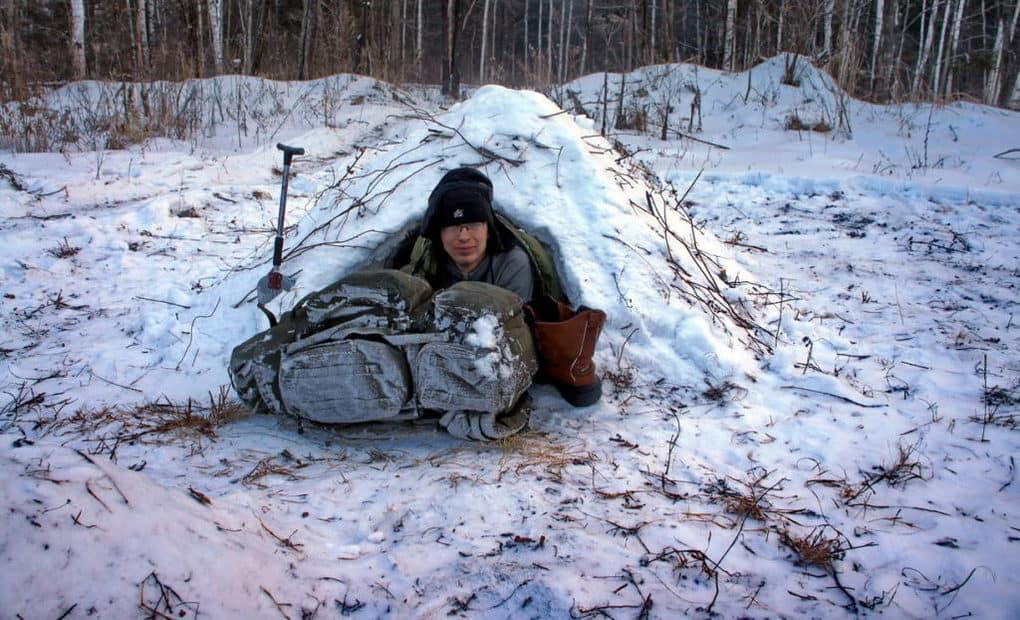 Что делать в лесу зимой