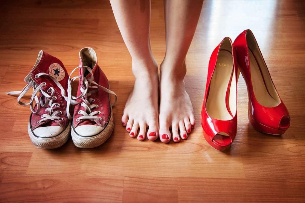 что нужно делать чтобы не болели ноги от каблуков что делать