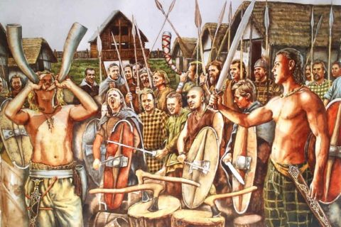 10 варварских племен, с которыми воевали римляне