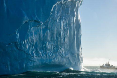 Самые большие айсберги в мире