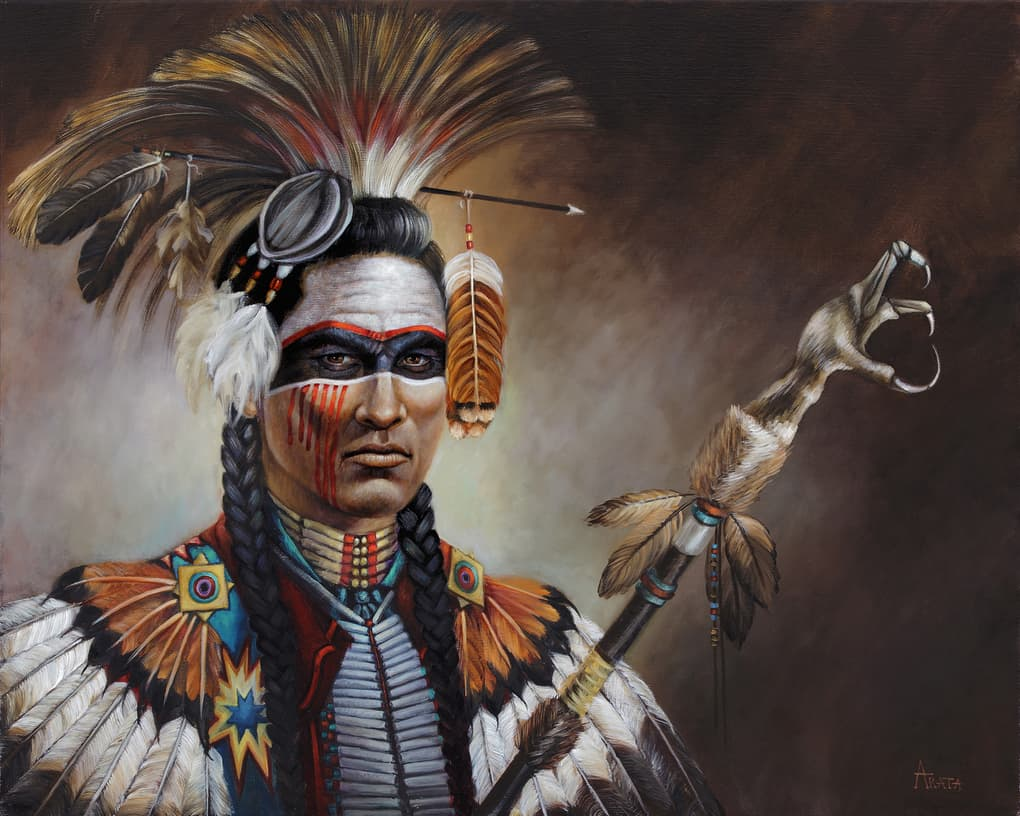 стал смотреть картинки с индейцами просьбе родзянки так