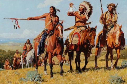 10 самых известных племён североамериканских индейцев