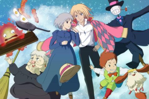 10 аниме, похожих на «Ходячий замок», 2004