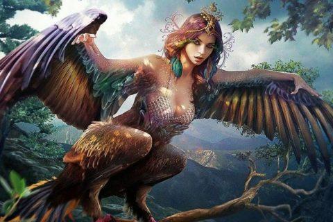10 мифических птиц, поражающих воображение