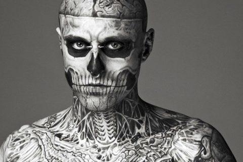 10 самых татуированных людей планеты