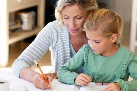 10 способов успокоиться, когда делаешь с ребенком уроки