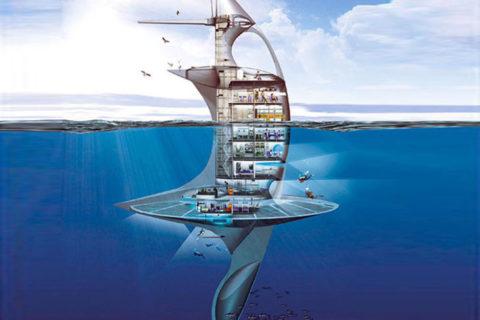10 подводных объектов, в которых можно жить