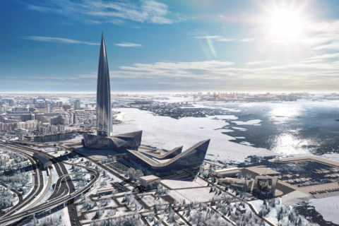 Самые высокие здания в Санкт-Петербурге