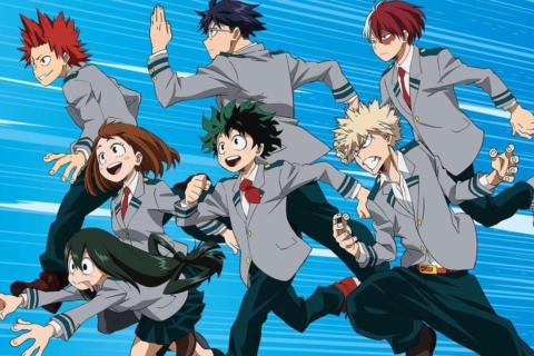 10 аниме сериалов похожих на «Моя геройская академия», 2016