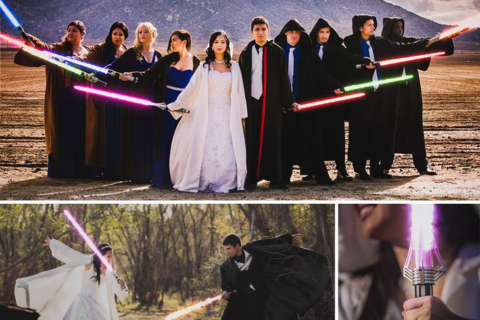 10 самых крутых тематических свадеб