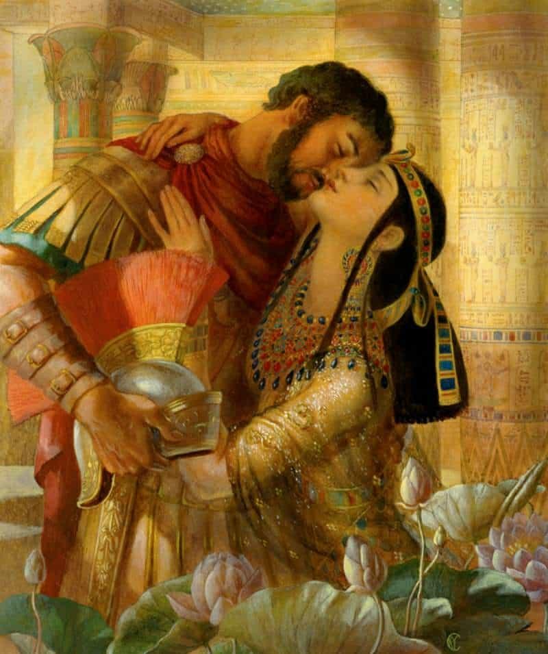 Антонио и клеопатра картинки