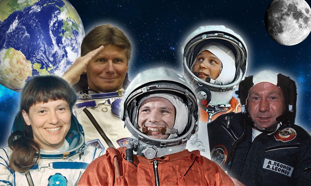 фото русских космонавтов с именами первого типа