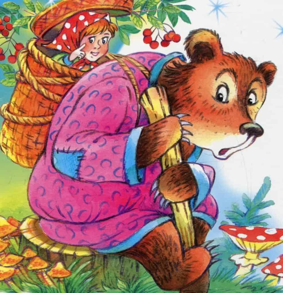 Картинки, сказка маша и медведь картинки анимации