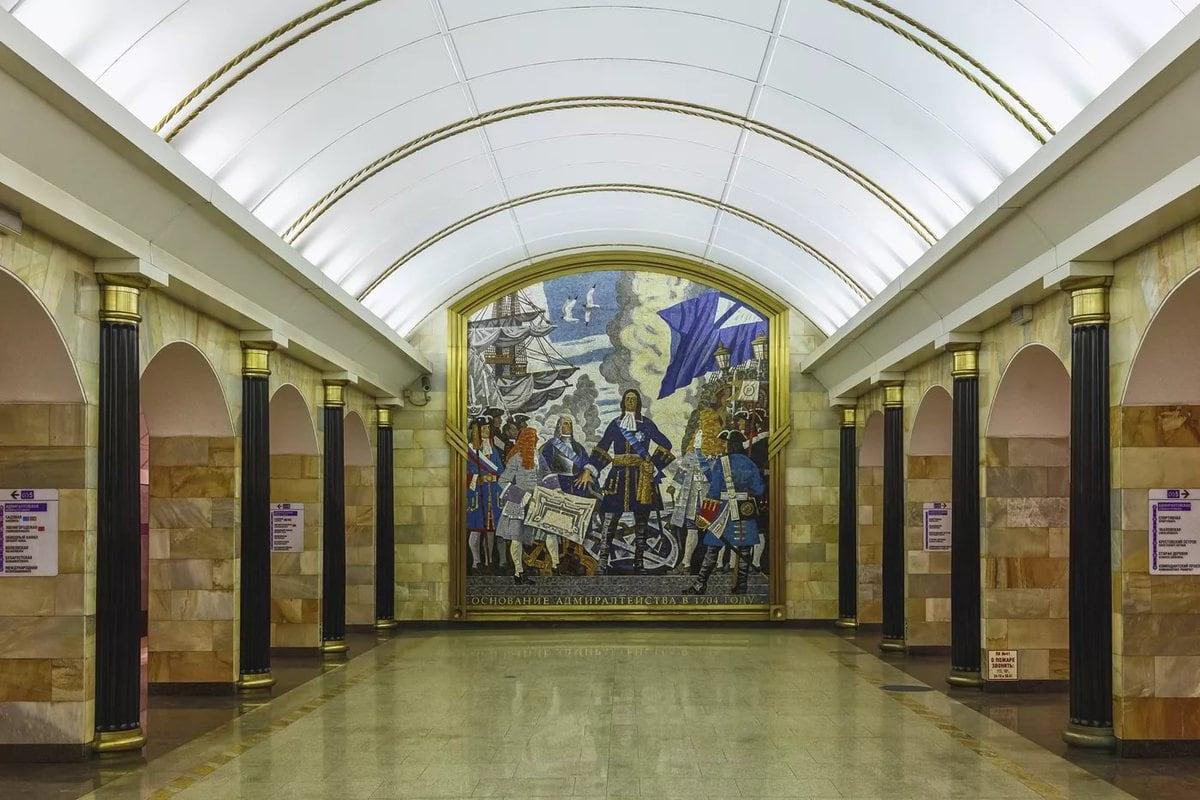 станции метро в санкт петербурге фото особенность заключается