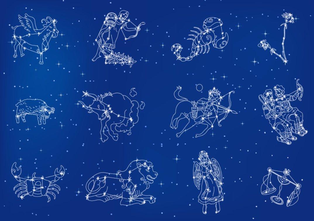 Знаки зодиака созвездия картинки и названия