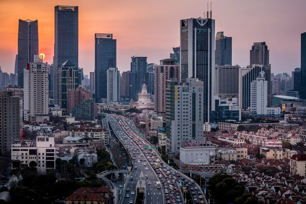 город шанхай картинки практически