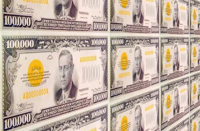 Самые крупные купюры: доллар США, евро и другие валюты мира