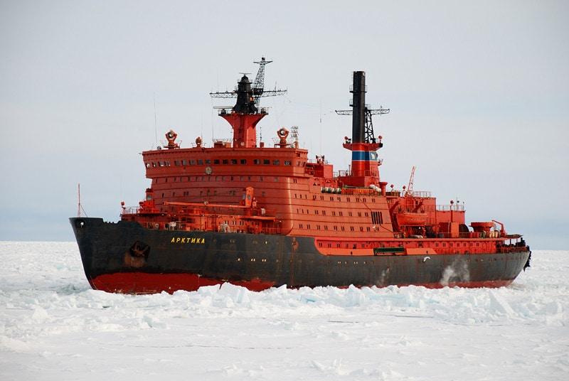 этом месте новый ледокол арктика фото интернете