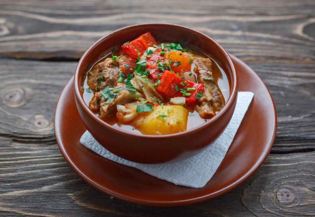 Рецепты первых блюд из баранины с фото