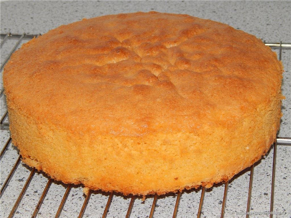 Как правильно и вкусно сделать воздушный бисквит